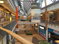 MegaStores home mall in The Hague Netherlands