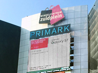 Zuidplein shopping center in Rotterdam Netherlands