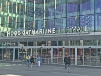 Hoog Catherijne shopping mall in Utrecht Netherlands