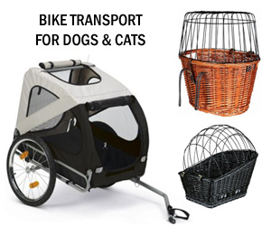 Netherlands bicycle dog cat carriers