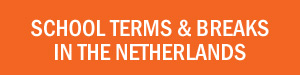 Dutch school term dates and holidays in the Netherlands