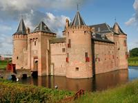 Muiderslot castle attraction Netherlands