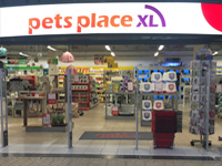Pets Place store in The Hague Netherlands