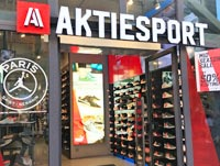 AktieSport lids athletic clothes sneakers store Amsterdam