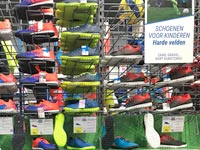Decathlon kids sport shoes clothing stores Netherlands
