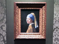 Girl With A Pearl Earring painting Mauritshuis
