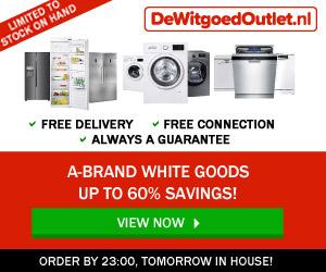 Netherlands discount appliances white goods shop