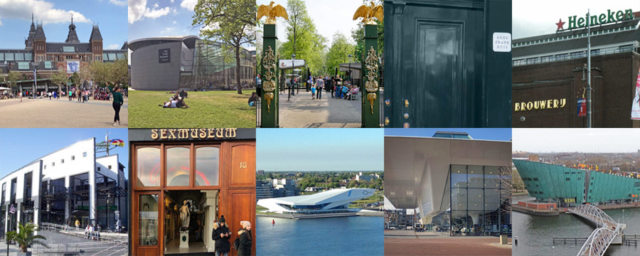 top 10 attractions in Amsterdam Netherlands