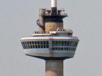Euromast attraction Rotterdam