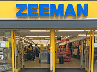 Zeeman Dutch clothing store chain