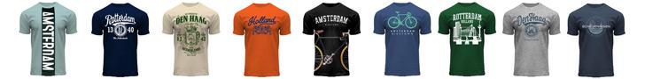 Amsterdam Rotterdam Hague T-shirts
