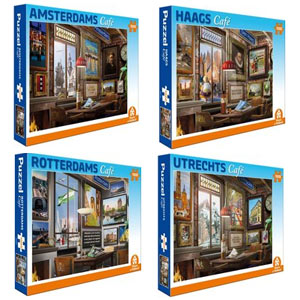 Amsterdam Rotterdam Hague Utrecht jigsaw puzzles