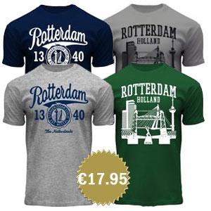 Rotterdam Netherlands souvenir t-shirts