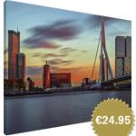 Rotterdam mounted wall art