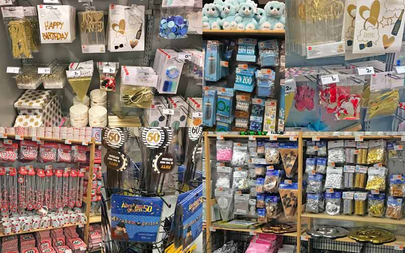 party supplies stores Netherlands