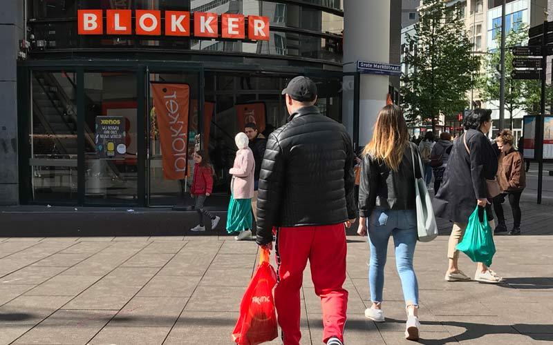 Netherlands retail stores - Dutch Blokker shop in The Hague