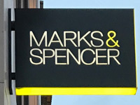 M&S store sign Netherlands