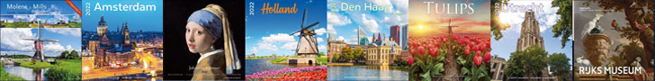 Netherlands tulips windmills 2022 wall calendars